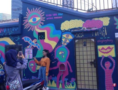 ZAOBAO – 甘榜格南出现本地第一个户外画廊