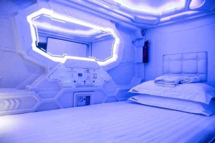 MET A Space Pod