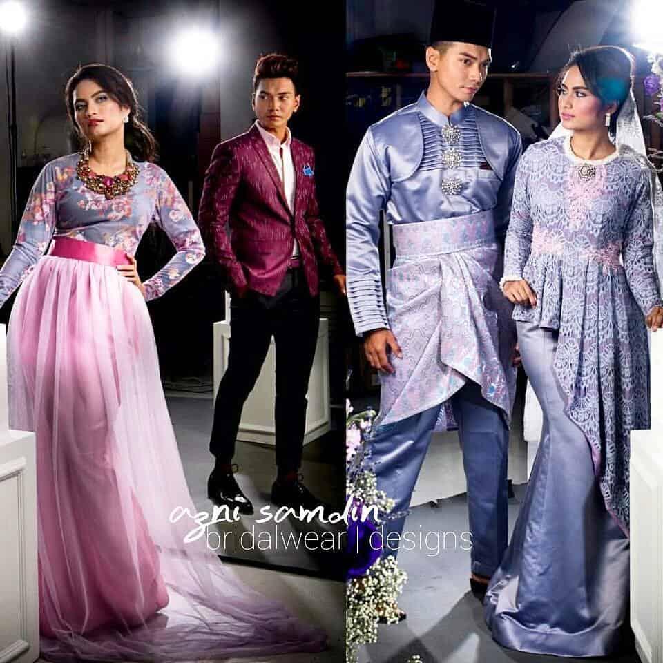 Azni Samdin - wedding wear display